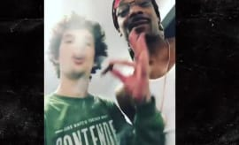 Snoop Dogg and MMA fighter Sean O'Malley