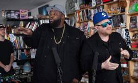 Run The Jewels Tiny Desk.