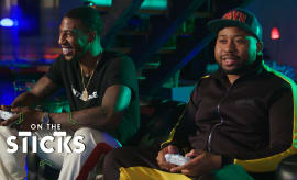 DJ Akademiks Takes on Iman Shumpert in 'Forza Horizon 4' | On the Sticks