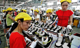 Nike Factory Workers