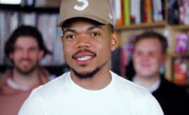 Chance the Rapper performs at NPR.