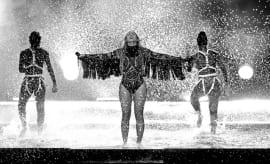 Beyoncé at the 2016 BET Awards