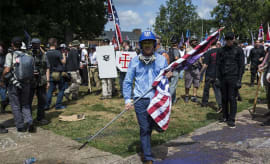 This is a photo of Charlottesville Rally.