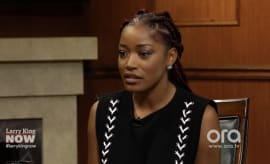 Keke Palmer on Larry King