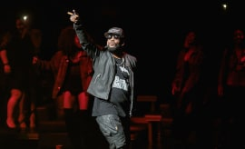 R. Kelly performs in concert at Bass Concert Hall