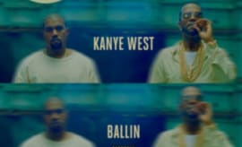 "This is Juicy J's artwork for ""Ballin"" featuring Kanye West."