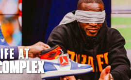 NFL Player Guesses Sneakers For $1000 Charity Donation (Feat. Kareem Jackson) | Life At Complex