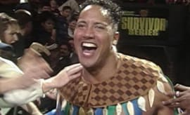 The Rock, WWE Survivor Series 1996 Debut