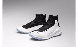 Under Armour Curry 4 Black/White 1298306-007 (Pair)
