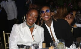Wiz and mom