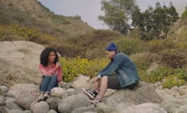 "A stillshot from ""Trip,"" a short film by Jhene Aiko."