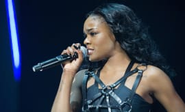 Azealia Banks performs onstage at Brixton Academy