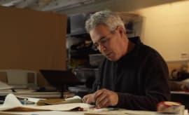 Nike Mike Friton Working at Desk