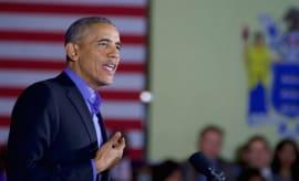 Obama in NJ