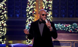 R. Kelly performs on December 23, 2016