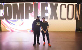 exclusive sneaker shopping at complexcon with dj clark kent