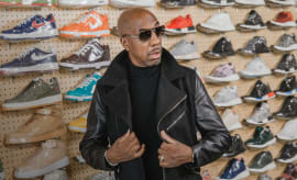 jb smoove goes sneaker shopping with complex sneaker shopping