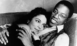 Jasmine Guy and Kadeem Hardison