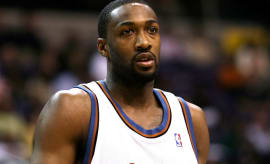 Gilbert Arenas back in 2008.