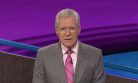 Alex Trbek on 'Jeopardy!'