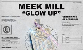 "Meek Mill ""Glow Up"" cover."