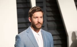 Calvin Harris at 2017 Vanity Fair Oscar Party