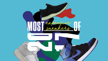 The 10 Most Expensive Sneakers of 2017