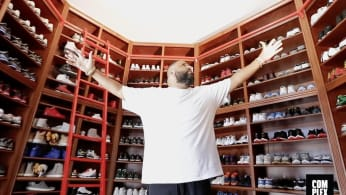DJ Khaled Gives Us an Exclusive Look at His Insane Sneaker Closet