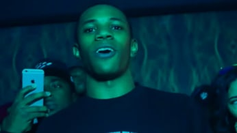 "This is a screenshot from A Boogie Wit Da Hoodie's ""My Sh*t"" video."