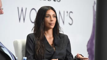 Kim Kardashian West speaks during the the 2017 Forbes Women's Summit