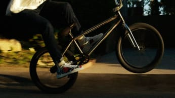Frank Ocean biking