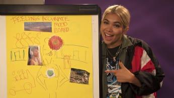 Hayley Kiyoko Draws A Mood Board For Feelings