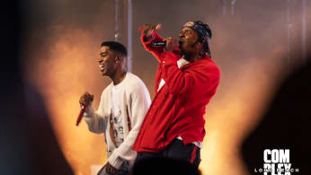 Kid Cudi and Pusha-T at ComplexCon Long Beach 2019
