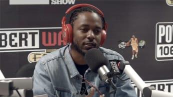 Kendrick Lamar on Power 106