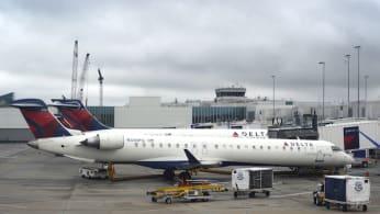 Delta Airlines at North Carolina airport