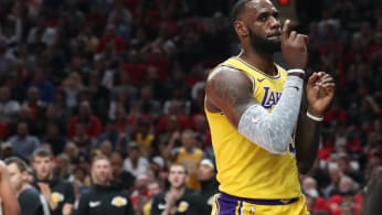 LeBron James Lakers Blazers 2018