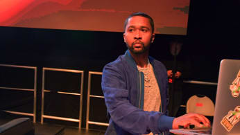 Zaytoven performs onstage during 'All-Star Weekend Kick-Off Party'