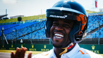 ASAP Ferg on F1 track