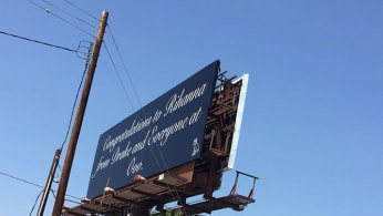 This is a Billboard Dedicated to Rihanna
