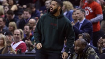 Drake, clearly excited by the news.