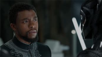 Chadwick Boseman as T'Challa in 'Marvel's Black Panther'