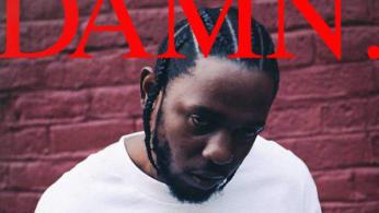 Kendrick damn cover