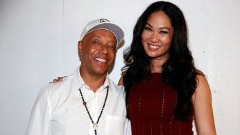 Russell Simmons and Kimora Lee Simmons in 2014.