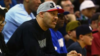 LaVar Ball, the father of LaMelo and Lonzo Ball.