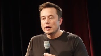 Elon Musk closing the 2016 Tesla Annual Shareholders' meeting.
