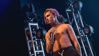This is a photo of Lil Pump.