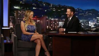 Stormy Daniels and Jimmy Kimmel