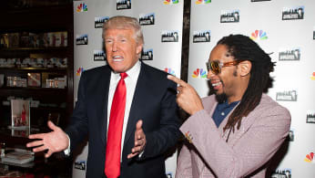 Trump and Lil Jon 2013