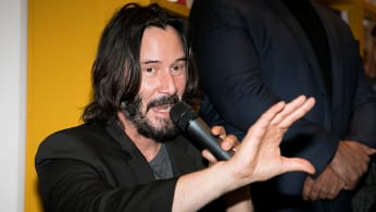 This is a photo of Keanu Reeves.
