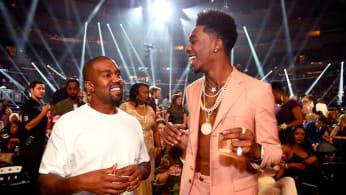 Desiigner and Kanye West